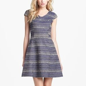 Lilly Pulitzer Ruthy Boucle Tweed Cap Sleeve Dress